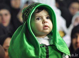 برگزاری مراسم شیرخوارگان حسینی