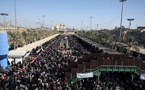 حرکت زائران ایرانی به سمت کربلای معلی در آستانه اربعین حسینی