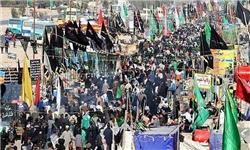 حضور نامحسوس نیروهای امنیتی در میان زائران امام حسین