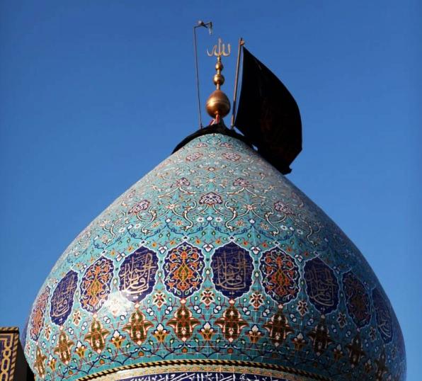 آغاز فاز دوم عملیات بازسازی مقام امام زمان عجل الله فرجه الشریف در کربلای معلی