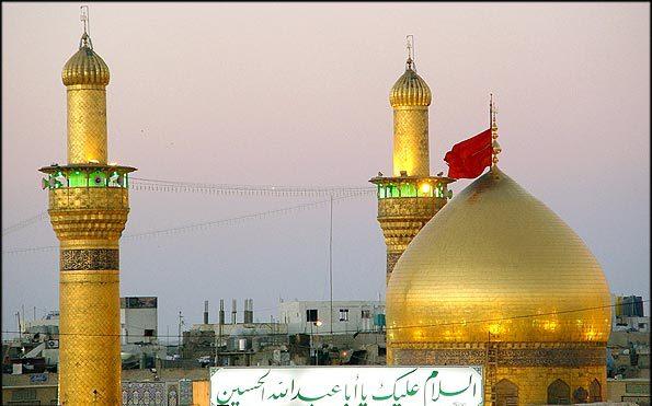 گزارش تصویری: جمع کثیرى از ایرانىان، سال 1392 را در حرم مطهر امام حسین (علیه السلام) آغاز کردند