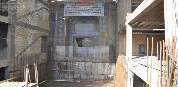 گزارش تصویری: توسعه دربهای حرم مطهر امام حسین (علیه السلام)