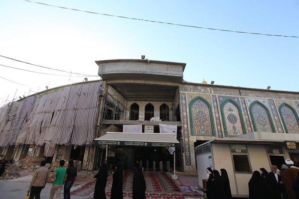 در قالب طرح توسعه حرم مطهر: آغاز عملیات احداث نه درب ورودی نظیر دربهای قدیمی حرم حضرت عباس علیه السلام
