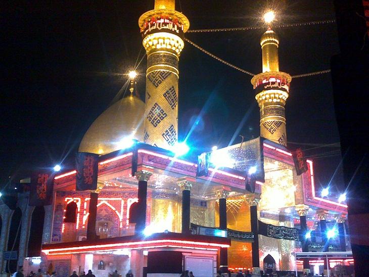 ساخت خیمه گاه حضرت عباس (علیه السلام) در شیراز