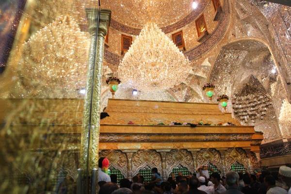 گزارش تصویری: استقبال از ماه رجب در حرمین مطهر حسینی و عباسی