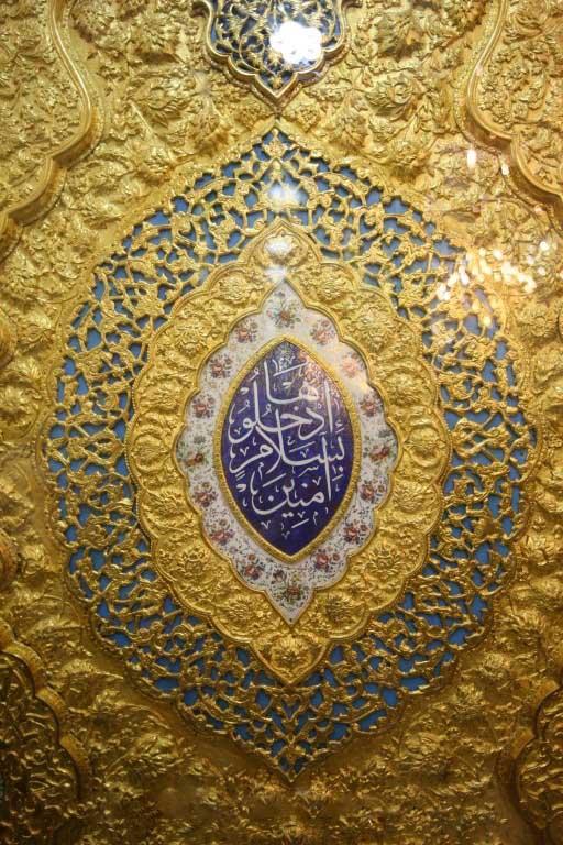 انتقال دو درب حرم حضرت عباس (علیه السلام) جهت مونتاژ نهایی از فارس به ایلام