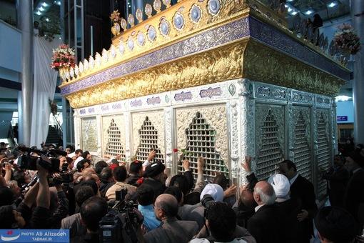 گزارش تصویری: رونمایی از ضریح حضرت مسلم بن عقیل (علیه السلام)