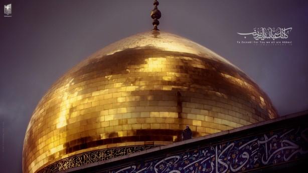 گزارش تصویری: به همت شیعیان، مراسم وفات حضرت زینب (سلام الله علیها) در حرم ایشان برگزار شد