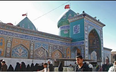 ساخت ضریح خیمهگاه حضرت ابوالفضل«علیه السلام» در بوشهر
