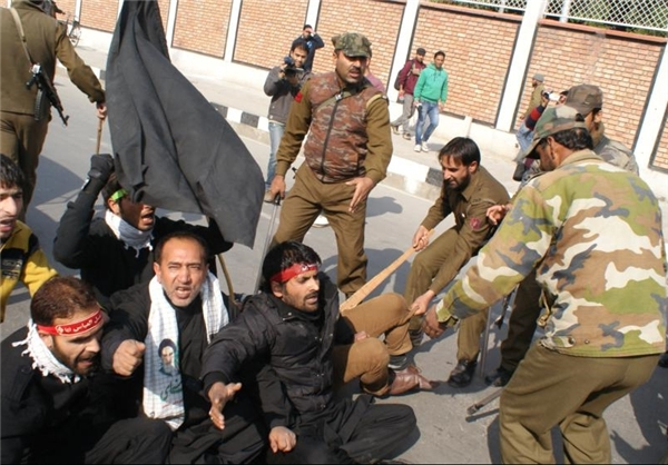 حمله بهعزاداران حسینی در کشمیر