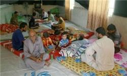 پناهجویان عراق در کربلا