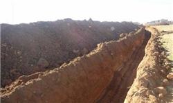 90 درصد از حفاری خندق امنیتی در مرزهای کربلا و بابل کامل شد