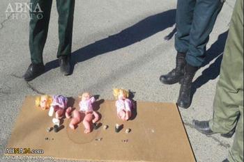 کشف سه عروسک بمبگذاری شده در آذربایجان غربی+عکس