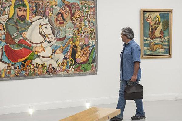 نمایشگاهی از نقاشیهای مذهبی قهوهخانهای در خانه هنرمندان