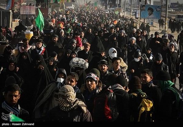 از هر 70 ایرانی یک نفر أربعین در کربلا بود