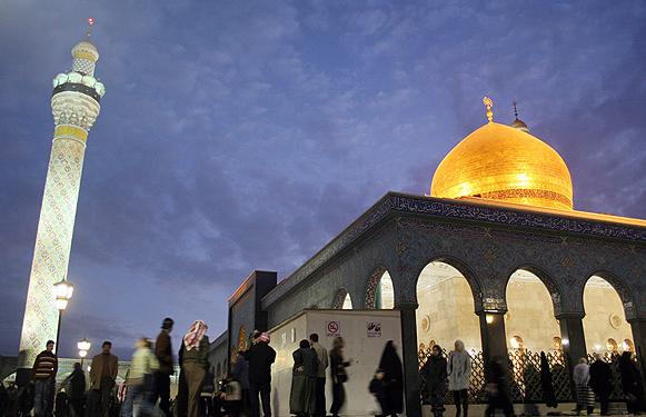 آغاز بازسازی حرم حضرت زینب سلاماللهعلیها
