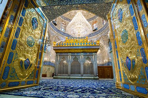 در جدید حرم حضرت مسلم (ع) به روی نمازگزاران گشوده شد