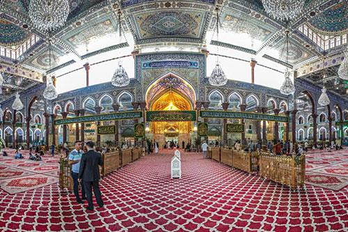 سرور میلاد امام مجتبی (ع) در کربلای معلی / گزارش تصویری