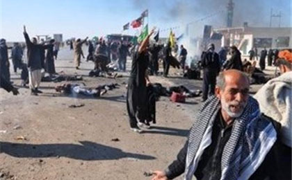 انفجارهای اربعین در عراق با ۱۹ شهید و زخمی