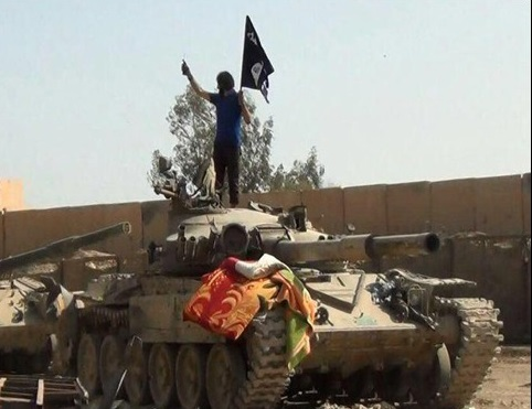اشغال مقر تیپ هشتم ارتش عراق+ تصاویر