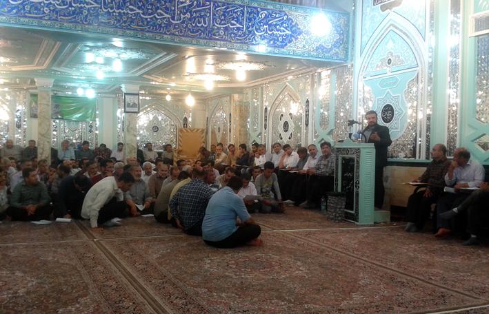 برگزاری جلسه مستشهدین عاشورا در گرگان