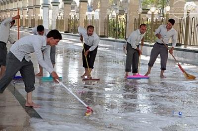 جزئیات طرح نظافت کربلای معلی پس از اربعین