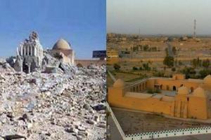 داعش بارگاه «چهل صحابی» را در تکریت منفجر کرد