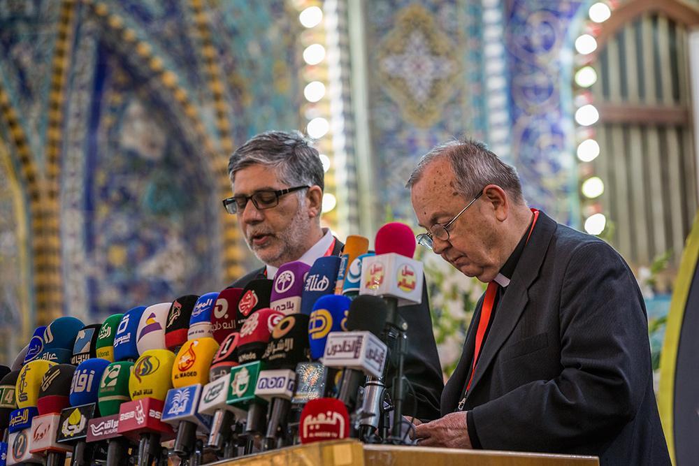 از بابت احیای این بارگاه مقدس پس از سقوط حکومت دیکتاتوری عراق بسیار خوشحالم