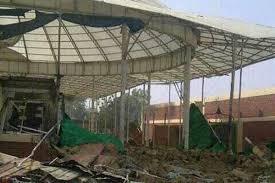 تخریب کامل حسینیه شیعیان نیجریه + تصاویر