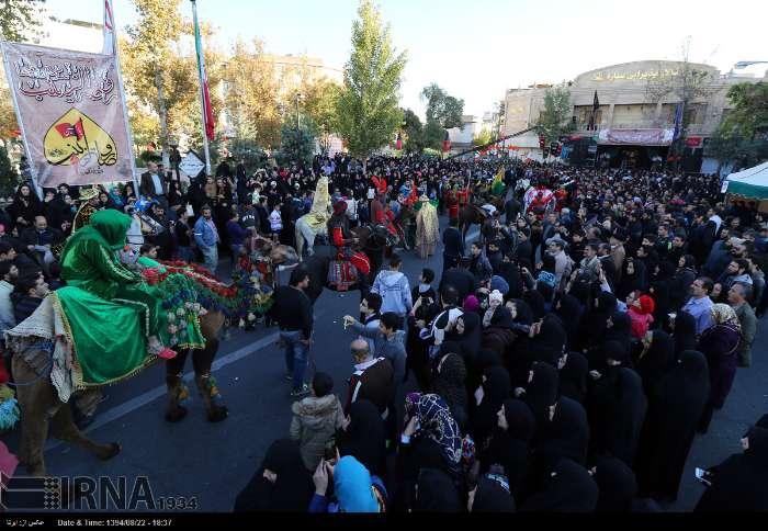 اجتماع «فداییان دو بانوی دمشق» در تهران/ گزارش تصویری