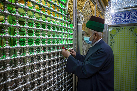 ساداتی که به خادمی خود افتخار میکنند / گزارش تصویری