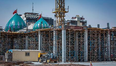 تصاویر جدید از پروژه توسعه حرم امام حسین (ع)/ گزارش تصویری