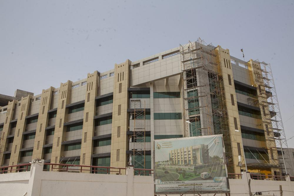 پیشرفت 90 درصدی عملیات احداث بیمارستان تخصصی الکفیل