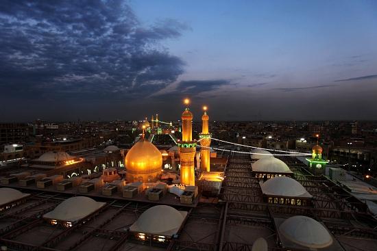 اجرای طرح جامع توسعه بارگاه حسینی و عباسی