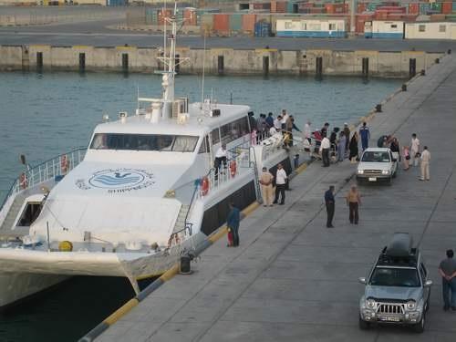 پای زائران عتبات به دریا هم باز شد