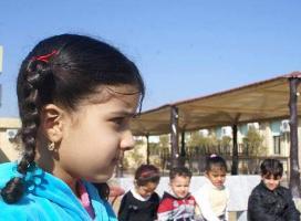 کودکان یتیم شیعه در پناه آستان حسینی