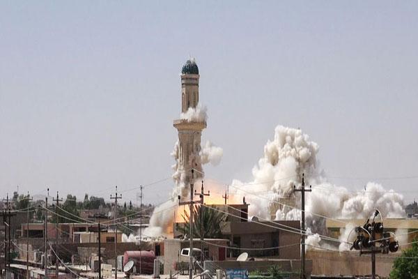 تاکید بر ساخت دوباره اماکن مقدسه تخریب شده توسط داعش