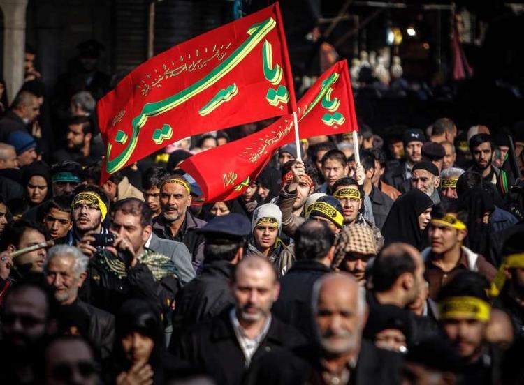پیادهروی بزرگ اربعین در تهران