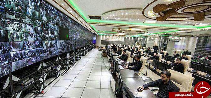 اتاق مونیتورینگ حرم امام حسین(ع) + عکس