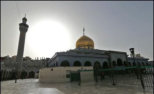 بخش شمالی صحن حرم حضرت زینب (س) مسقف میشود