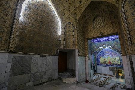 باز طراحی و تعمیر ورودیهای آستان قدس عباسی