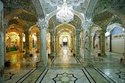 پروژه ساخت نیم ضریح شبستان حضرت زهرا (س)