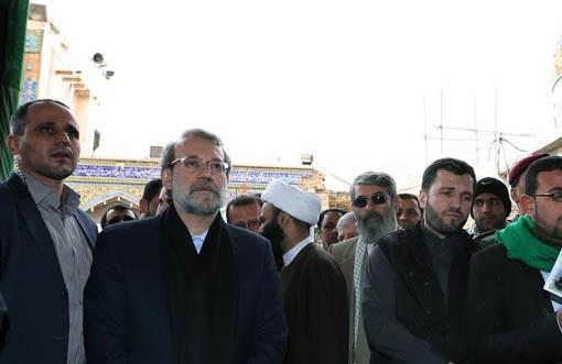 رئیس مجلس از زیر ساختهای حرم امام حسین (ع) بازدید کرد