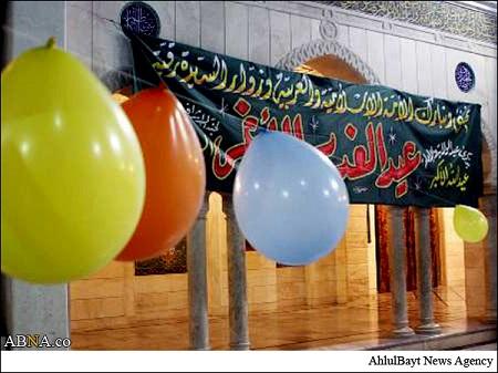 حرم حضرت رقیه سلام الله علیها در روز عید غدیر (گالری تصاویر)