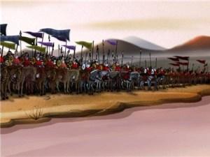 پخش انیمیشن «سوگ رقیه» در ایام محرم