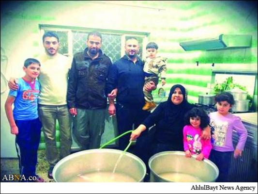 26 سال آشپزی یک زن سنی مذهب برای امام حسین علیه السلام