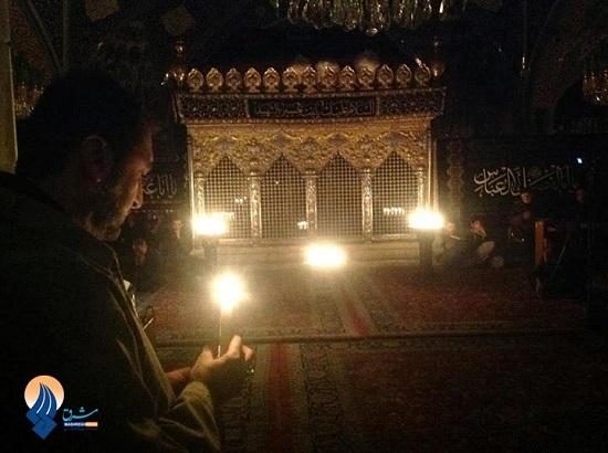 شام غریبان در حرم حضرت رقیه سلام الله علیها / عکس
