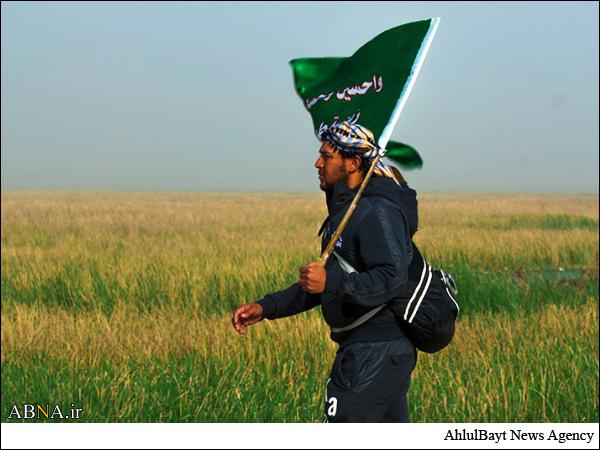 پیاده روی زائران کربلا در آستانه اربعین حسینی / گزارش تصویری