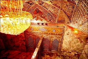 ساخت کتیبه قتلگاه امام حسین علیه السلام