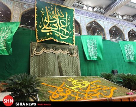 حرم حضرت عباس علیه السلام و عید غدیر در قاب تصاویر